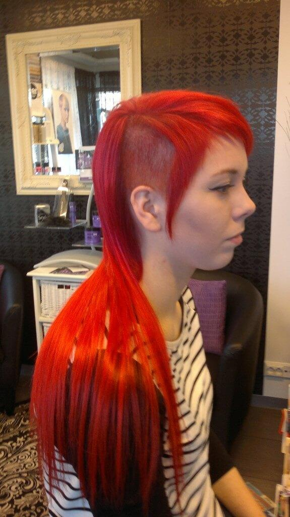 hiustenpidennys
