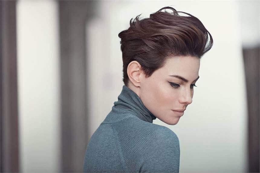 Hiussalonki Frendin tyyligalleria - Luonnollinen hiustyyli