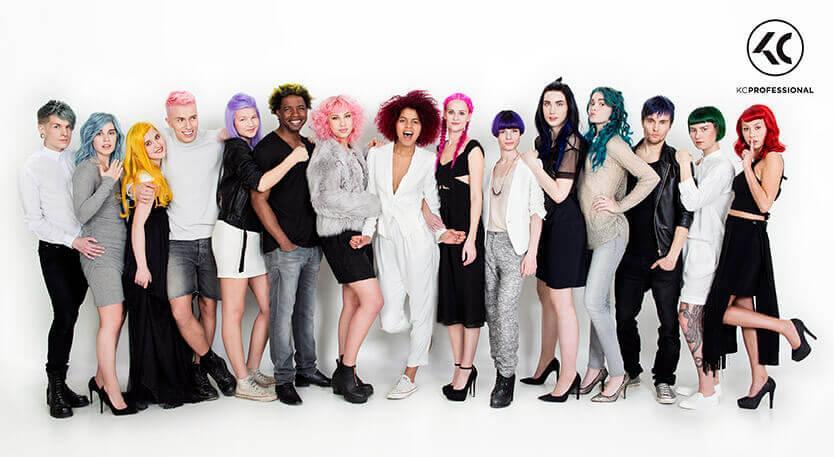 Hiussalonki Frendin tyyligalleria - Trendikäs hiustyyli