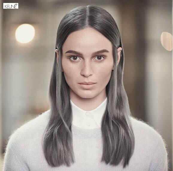 Hiussalonki Frendin tyyligalleria - Erikoinen hiustyyli